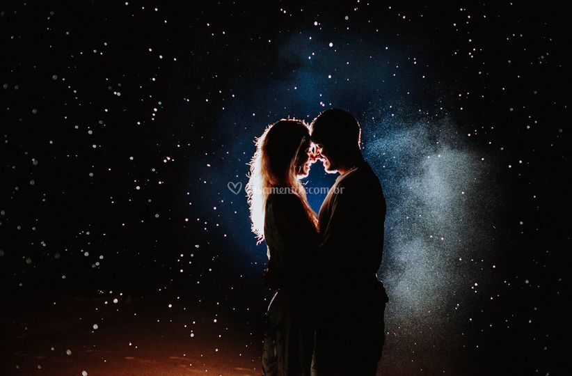 Foto nas estrelas