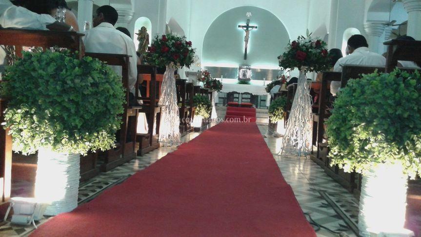 Decoração da igreja