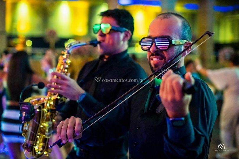 Duo Live com Sax e Violino