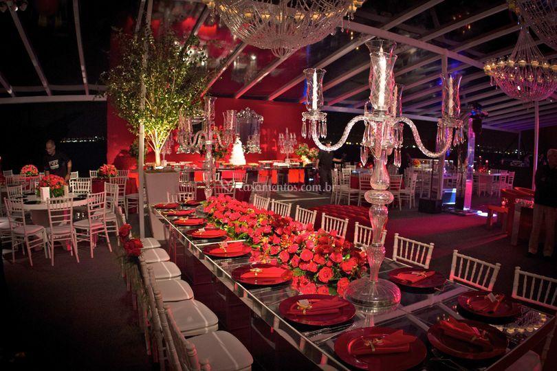 Mesa de Banquetes Familia