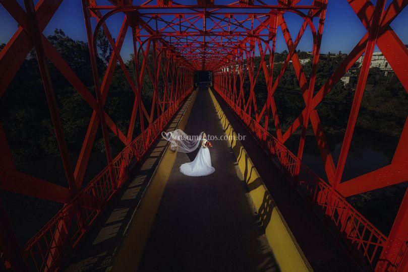 Ponte entre Rio Negro e Mafra
