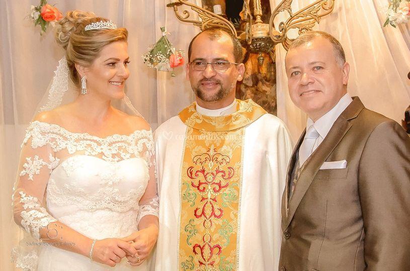 Casamento de Hermes e Sandra