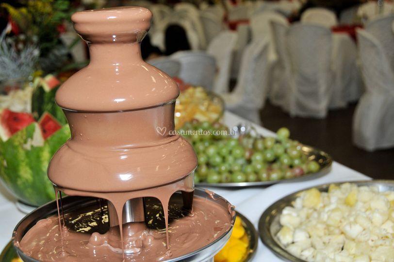 Mesa de chocolate