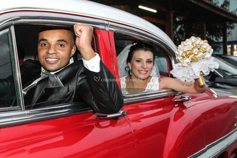 Noivos Vanessa e Fabio