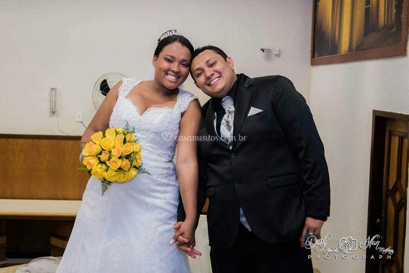 Casal Jose Fabio e Gisele