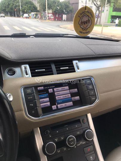 Land Rover evoque...
