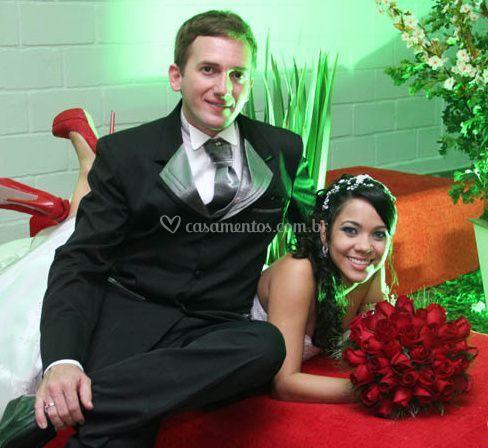 Noivo e noiva