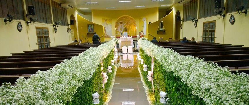 Corredor de noiva  espelhado