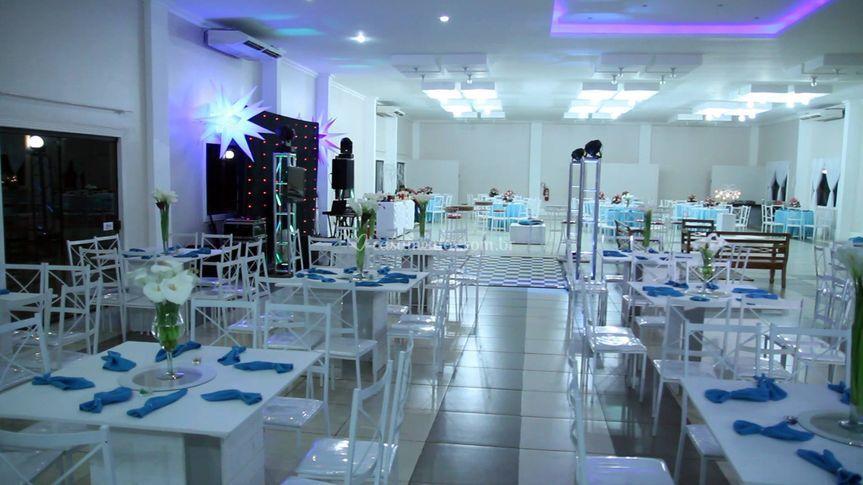 Mesas de convidados luxo
