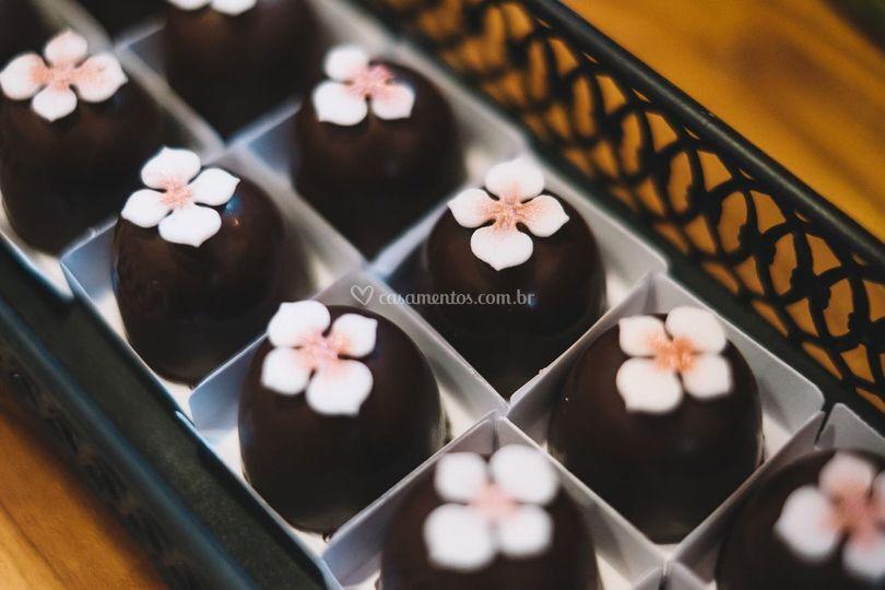 Bombom Caramelo e Flor de Sal