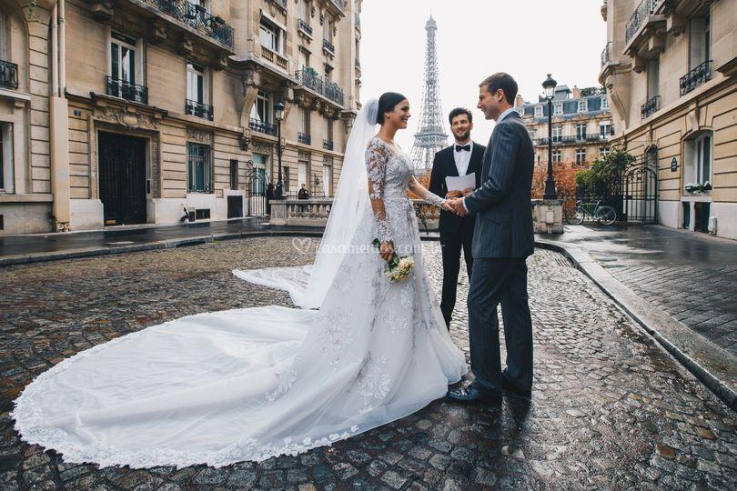 Cerimonia em Paris