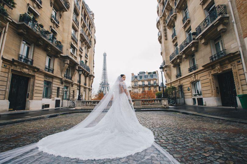 Noiva em paris