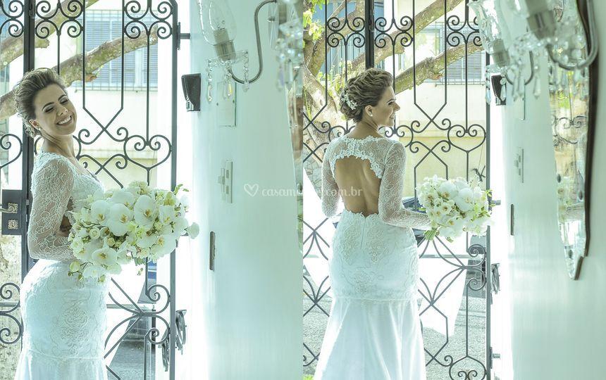 Linda noiva.