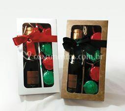 Kits de Pão de Mel com vinho