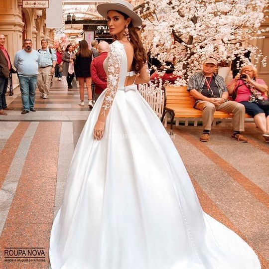 Vestido de Noiva modelo vogue