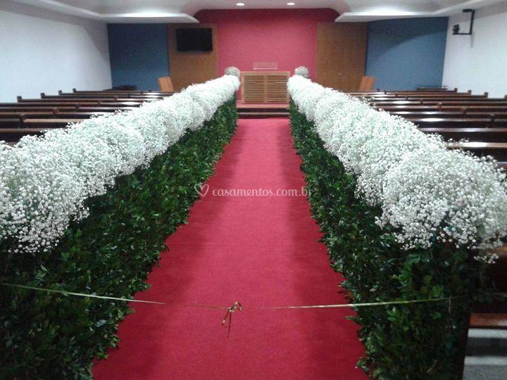 Decoração para igreja