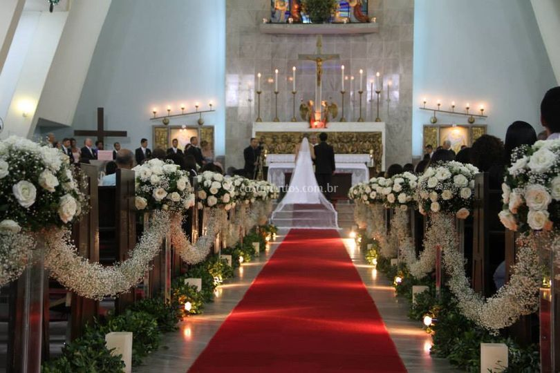 Decoração para cerimônia