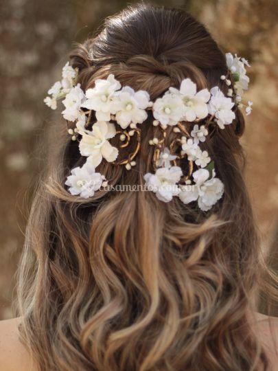 Coroa de Flores Cascata Confis