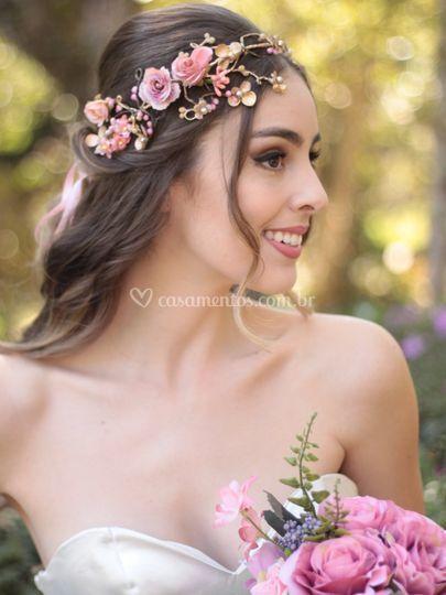 Tiara de Flores Poesia