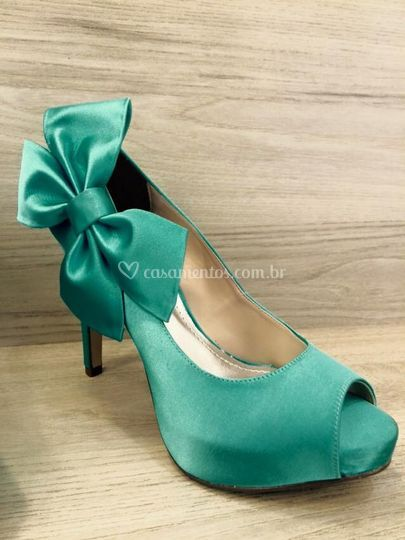 Sapato verde