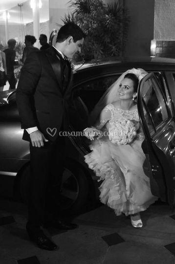 Noivos: Brunna e Ricardo