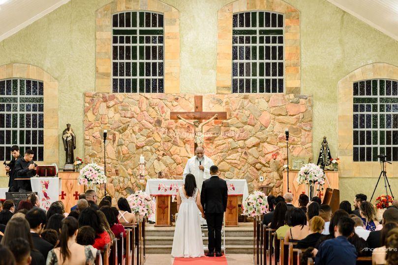 Casamento Santa Luzia-MG