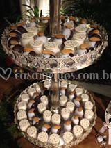 Organização mesa de doces