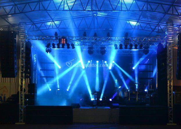Luzes para o seu evento