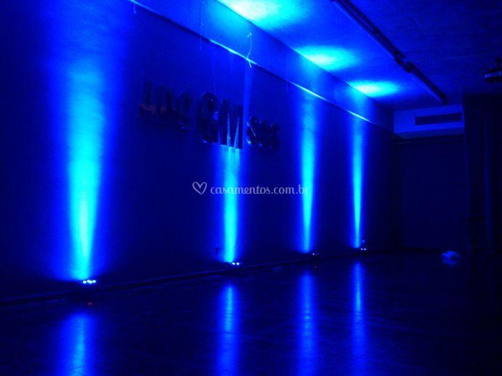 Clube GM - Iluminação Cênica