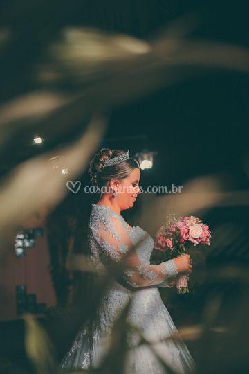 Ensaio da noiva antes do sim