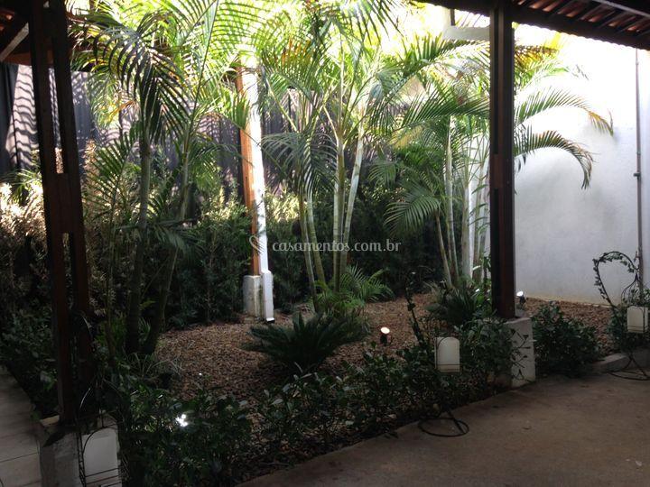 Jardim interno