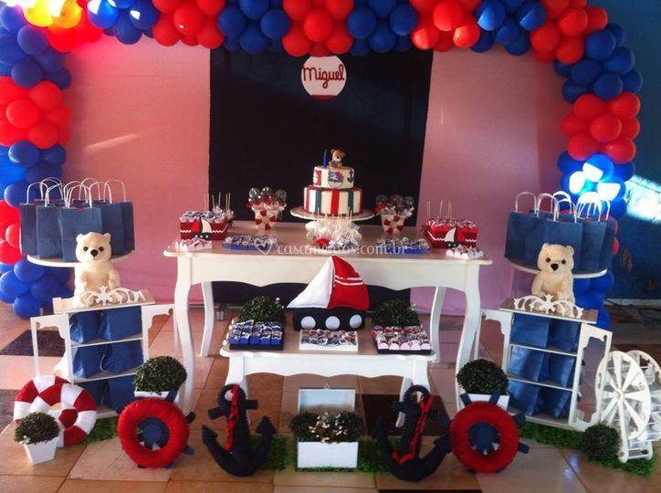 Festa infantil personalizada