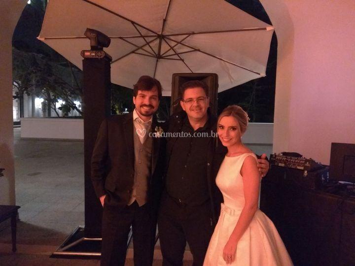 Noivos Ricardo e Fernanda