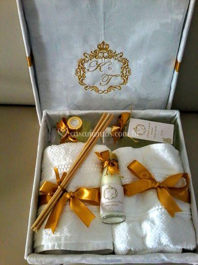 Kit presente para os noivos