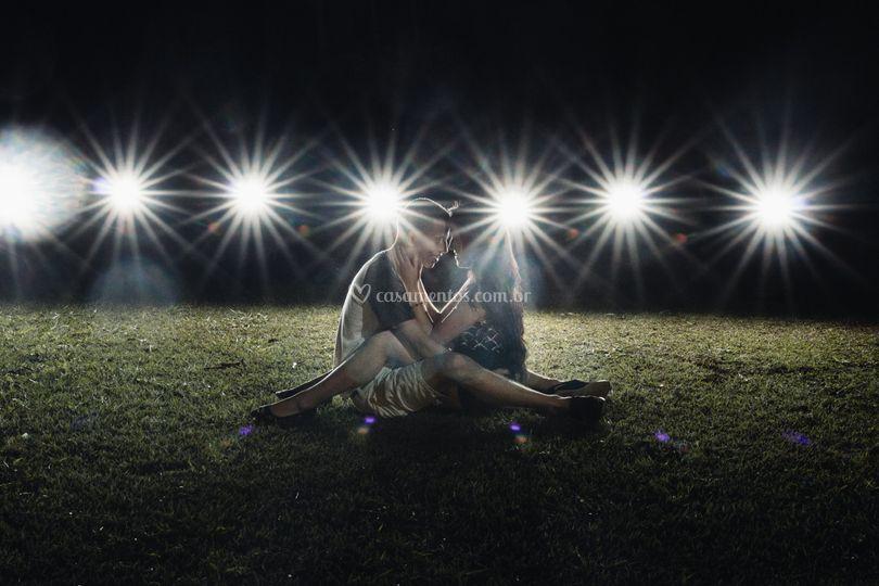Exista luz no nosso amor.