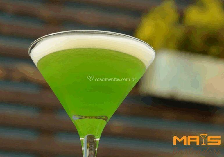 Apple Martini Mais Bartenders