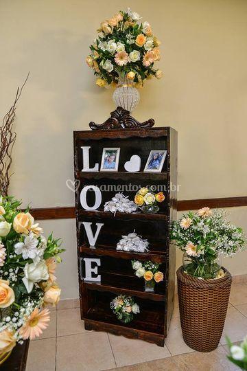Armarinhos para decoração