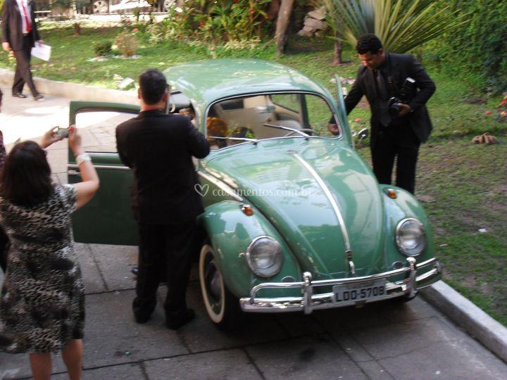 Fusca 1960 o primeiro modelo.