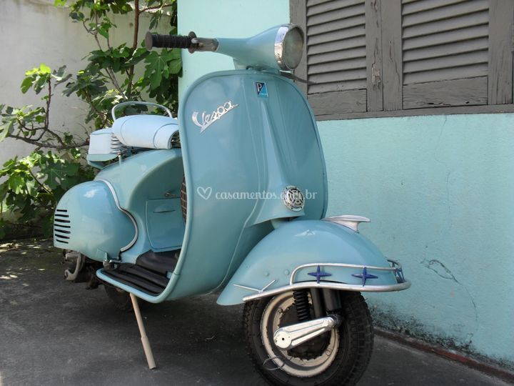 Lambreta 1958 charme e estilo