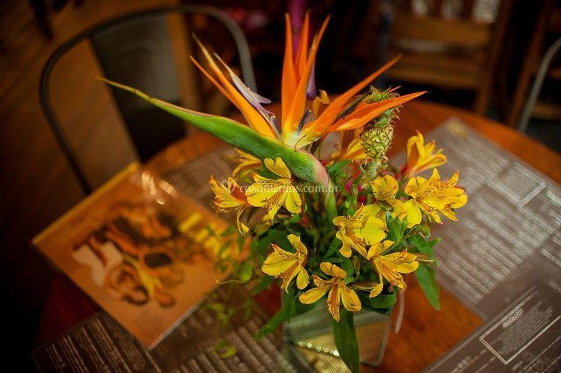 Flores para mesa