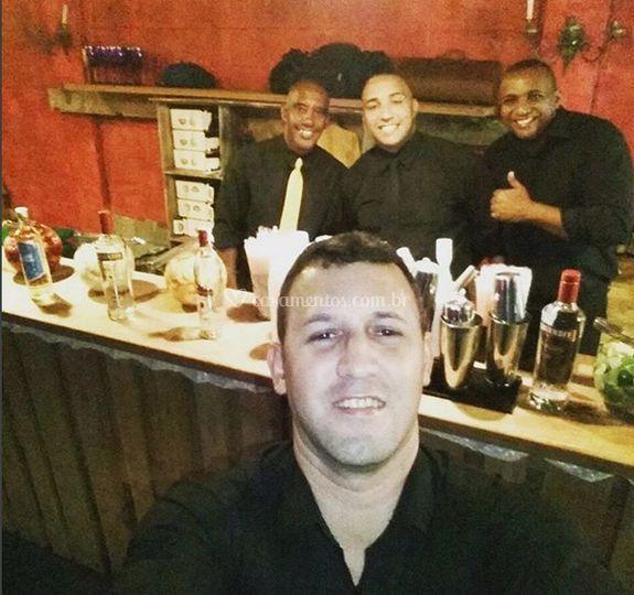 Barmans profissionais