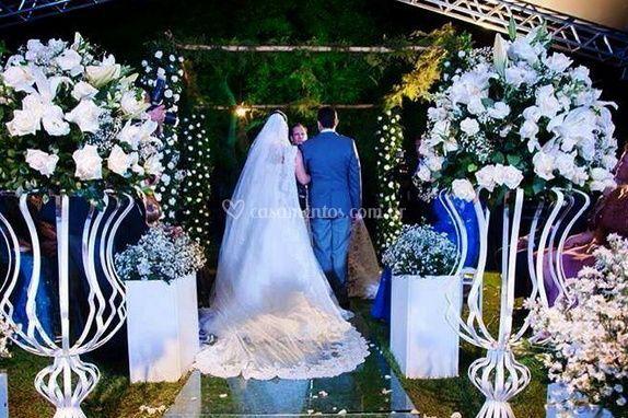 Casamento em nossas instalações