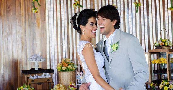 Celebrar o seu casamento com a gente