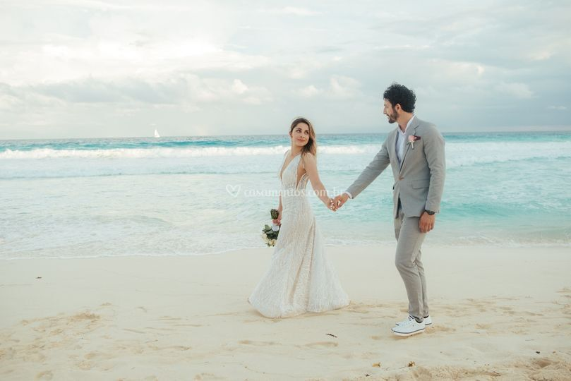 Paula e James - Cancun