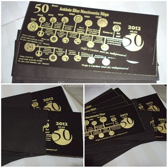 50 anos - tempo
