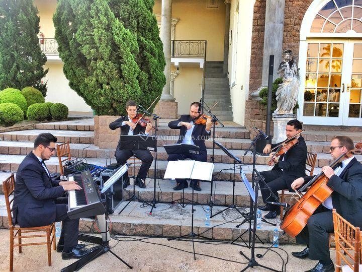 Quarteto de Cordas e Piano