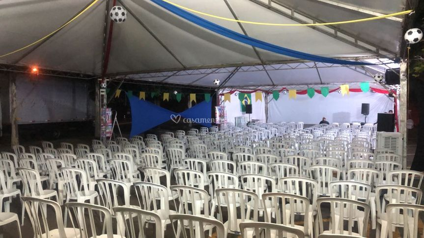 Tendas para palestras