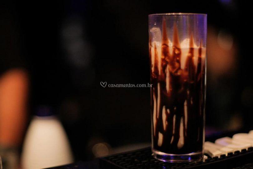 Drinks com e sem álcool