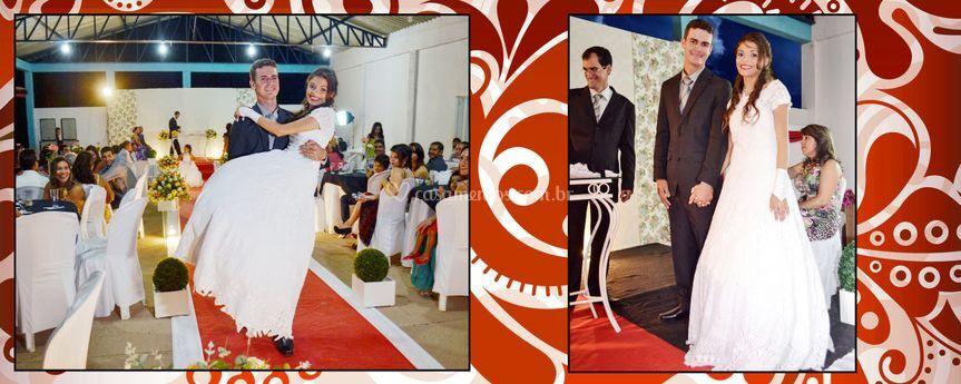 Carregando a noiva
