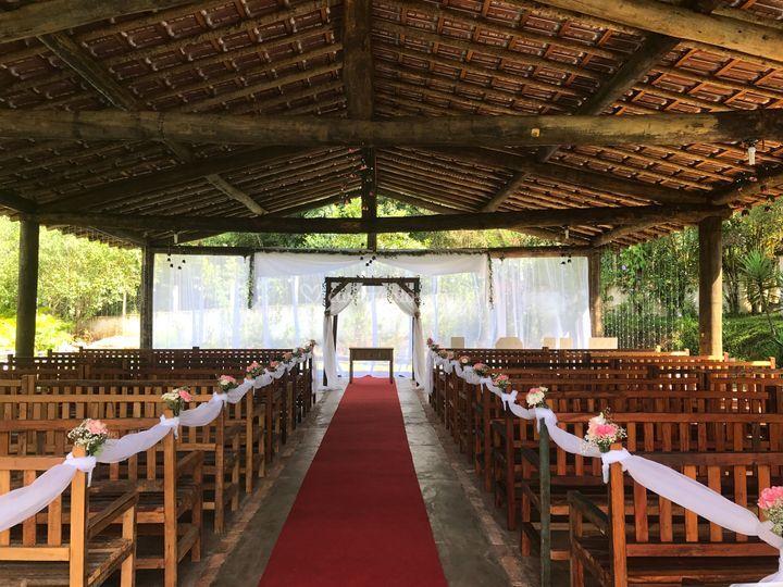 Área para o cerimonial